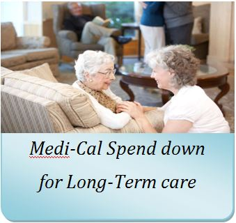 Medi-Cal spend down with an annuity