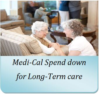 Use Annuities to spend down for Medi-Cal