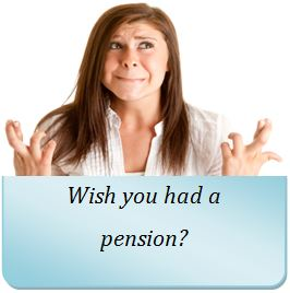 Wish you had a pension?